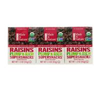 Ізюм, Raisins, Made in Nature, 6 пак. (42 г)