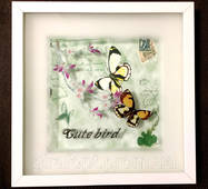 Картина с объёмным изображением Милые Бабочки