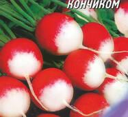 Семена Редиса Красный с белым кончиком 50 г