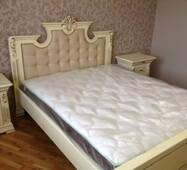 Дубове двоспальне ліжко Марія