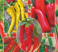 Семена перца Острое наслаждение смесь острых перцев 30 шт