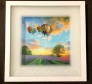 Картина с объёмным изображением Пейзаж