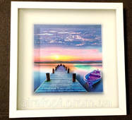Картина с объёмным изображением Морской пейзаж