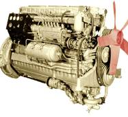 Шатун на двигатель 1Д6
