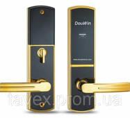 Замок готельний електронний з доступом по безконтактній MiFare картці DOU - 673mf