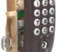 Замок електронний з кодовим доступом автоматичний LL67AP1
