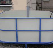 Бассейн для рыборазведения объёмом 2,7 м3, полипропилен