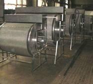 Механический барабанный самопромывной фильтр 300 м3/час