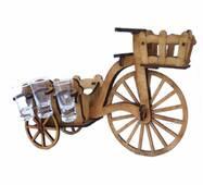 """Мини-бар """"Велосипед с корзиной"""""""