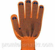 Перчатки Полиэстер с ПВХ точкой 9612, 6нитей