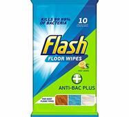 Антибактеріальні серветки для прибирання Flash anti-bac plus 10 шт Бельгія