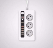 Мережевий фільтр Remax Power Socket bkl - 04