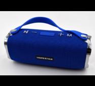 Потужна портативна bluetooth колонка Sound System H24 Pro Hopestar Синя