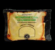 Соль черного моря для ванн Ароматика Сантал-Корица, Вес 100 г.