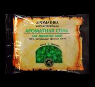 Соль черного моря для ванн Ароматика Пихта-Эвкалипт, Вес 100 г.