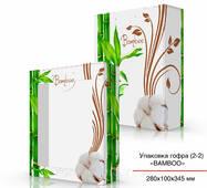 Картонная коробка для полотенец 280х100х345 мм под заказ