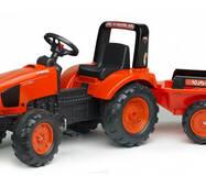 Дитячий трактор на педалях Falk 2060ab KUBOTA M135GX