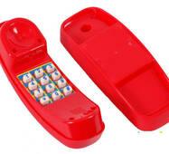 Телефон ігровий для дитячих майданчиків Червоний