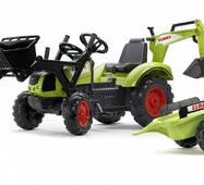 Дитячий трактор на педалях Falk 2070y CLAAS ARION 430
