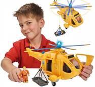 Вертоліт Wallaby II з фігуркою Пожежний Сем Simba 9251002