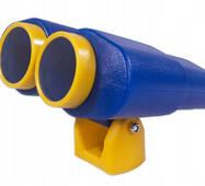 Бінокль великий пластиковий Just Fun для дитячого майданчика Синій