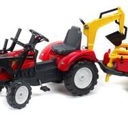 Детский трактор на педалях Falk 2081RM Ranch Trac