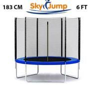 Батут SkyJump 6 фт., 183 см c захисною сіткою