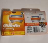 Сменные кассеты Gillette Fusion5 США 8 шт