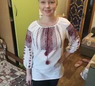 вишита сорочка для дівчини