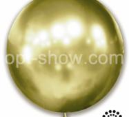 "Шар гігант Золота Оливка 21"" (52,5 см) Арт Шоу"