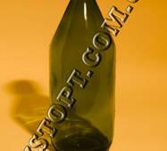 Пляшка скляна для реактивів 1 л