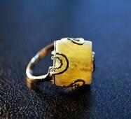 """Кольцо из янтаря """"Миф"""""""