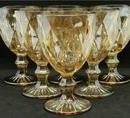 Набор для напитков 7 предметов Зеркальный изумруд янтарь OLens DV - 07204dl/BH - yantar