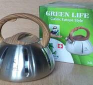 Чайник металический Green Life GL - 5203 BR