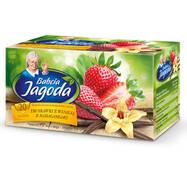 Чай в пакетиках Grandma's Tea, клубника и ваниль из Мадагаскара, 2г*20шт