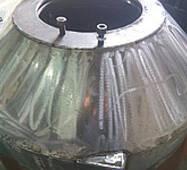Крышка гранулятора ОГМ 1,5 из НЕРЖАВЕЙКИ