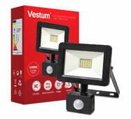 Прожектор LED Vestum з датчиком руху 20w 2 000Лм 6500k 175-250v IP65