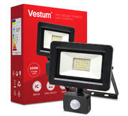 Прожектор LED Vestum з датчиком руху 30w 2 900Лм 6500k 175-250v IP65