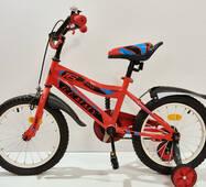 """Велосипед 16""""- Remmy BOSS красно-черный глянец"""