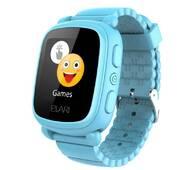 Смарт-часы детские KidPhone 2 Blue с GPS-трекером ELARI