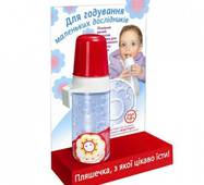 Бутылочка детская НЯМА латексная анатомическая соска 250 мл