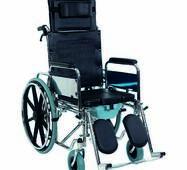 Коляска інвалідна багатофункціональна з санітарним оснащенням Golfi - 4 Heaco