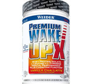 Предтреники і енергетики Premium WAKE UP X Порошок 600 g (після сну) WEIDER