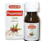 Екосвит ОЙЛ Олія касторова капсули 0,3 г №60
