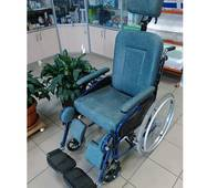 Инвалидная коляска б/у, ширина сидения 43 см