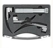 Cтандарт Міллер C ларингоскопічний набір, неонаталогия, 1 руків'я   3 клинки KaWe