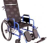 Багатофункціональна інвалідна коляска OSD MILLENIUM RECLINER (REP - синя)
