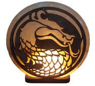 """Соляная лампа Дракон (3-4 кг) """"Saltlamp"""""""
