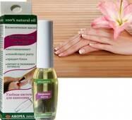 Aroma Inter (Арома Інтер) Косметична олія Здорові нігті пензлик 9 мл