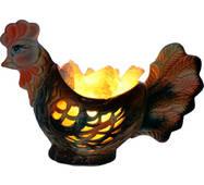 Петух 2кг Соляной светильник керамика Артемсоль